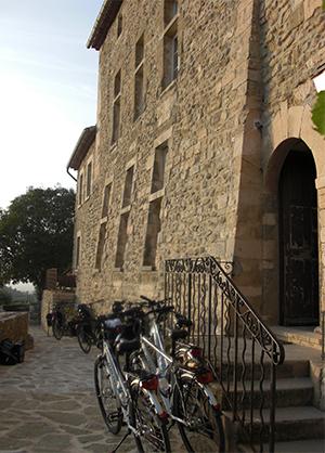 Det er en oplevelse at cykle i smukke  områder