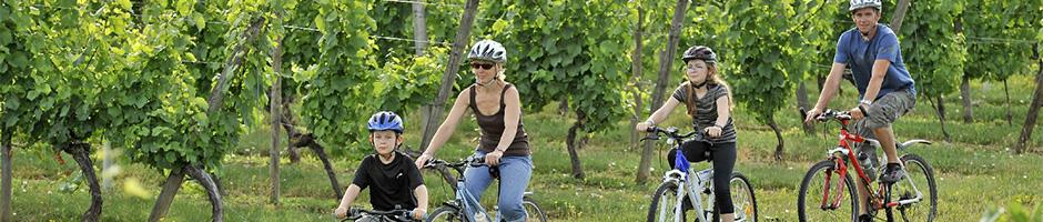 Cykeltur med familien
